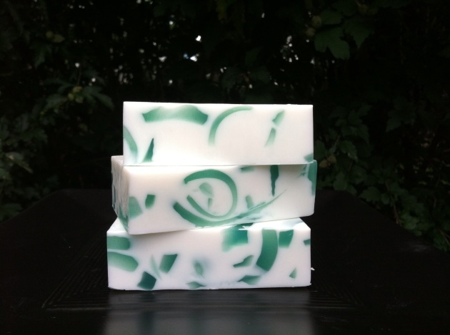 One of my early melt and pour soap creations.
