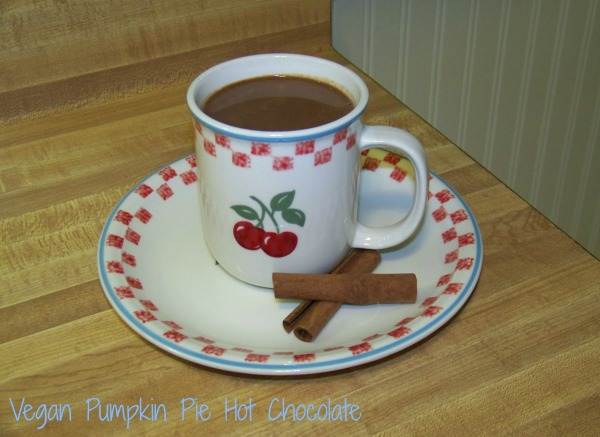 Vegan Pumpkin Hot Chocolate