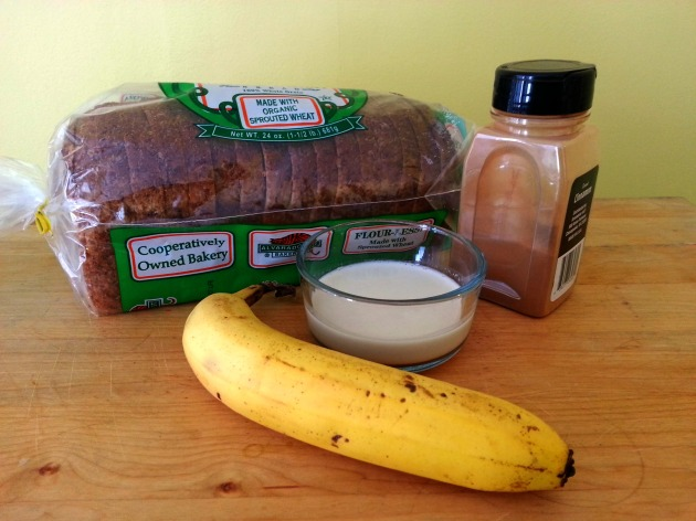 vegan banana french toast ingredients