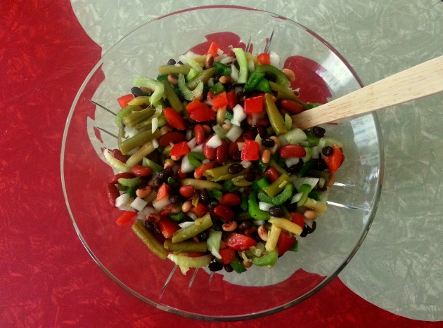 Five bean salad 2