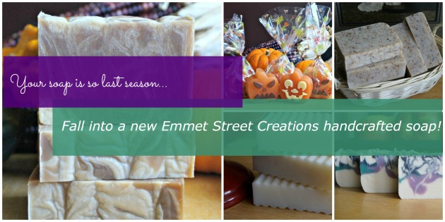 Emmet Street Creations Fall Handcrafted Soap