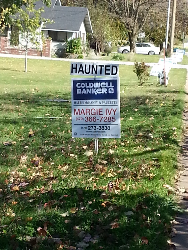 Haunted house for sale