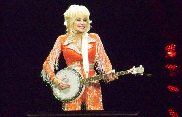Dolly Parton performing in Knoxville Tennessee May 28 2014