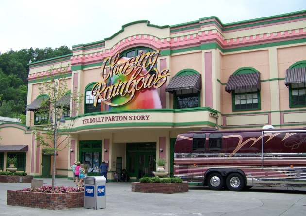 Dollywood Chasing Rainbows Museum