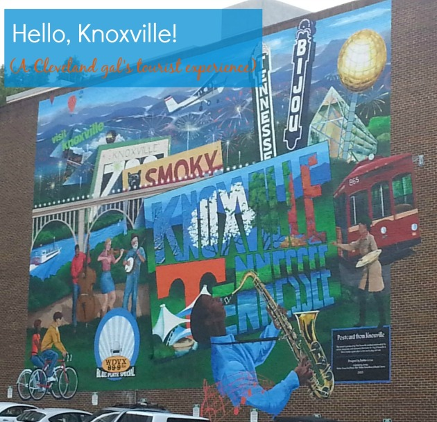 Knoxville tourism mural
