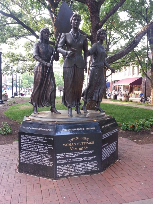 Tennessee Woman's Suffrage Memorial
