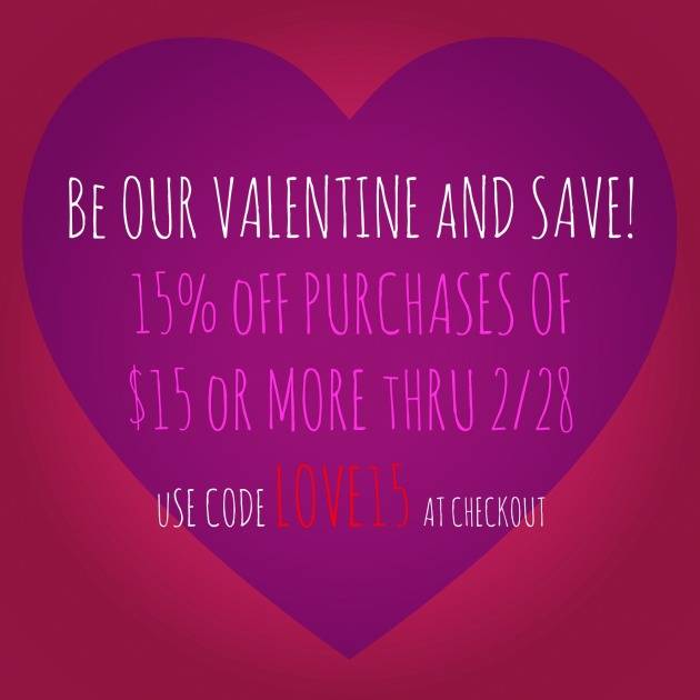 Emmet Street Creations Etsy store Valentine's Day sale promo code