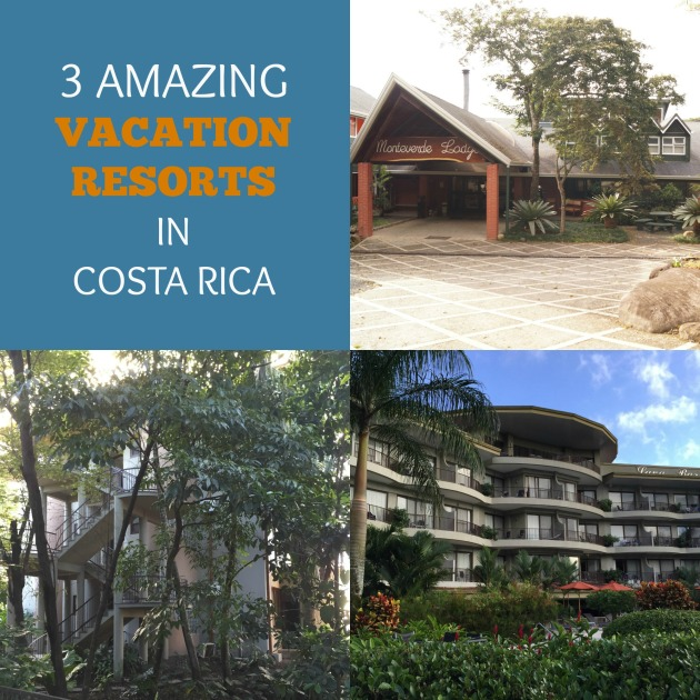 3 amazing vacation resorts in Costa Rica