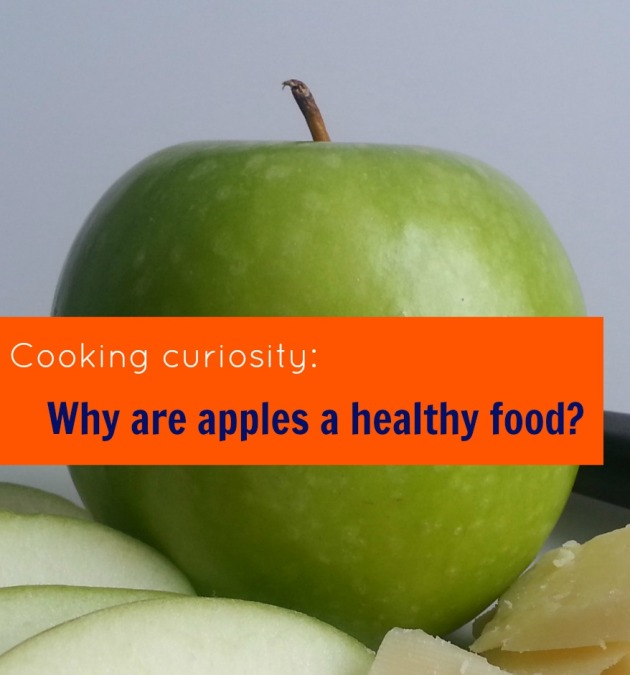 Why are apples a healthy food?