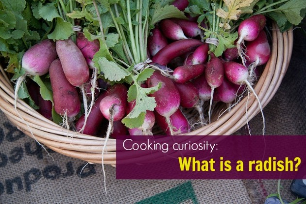 Cooking curiosity: What is a radish?