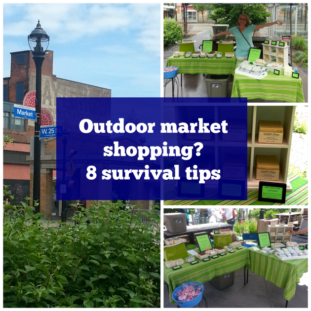 Outdoor market shopping? 8 survival tips