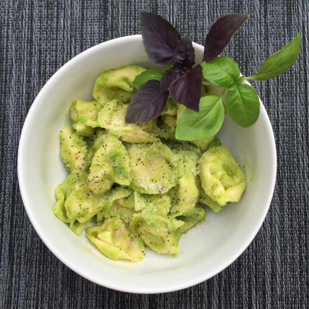 Garlic scape, basil and almond pesto | Emmet Street Creations