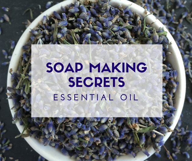 Soap making secrets: Essential Oil