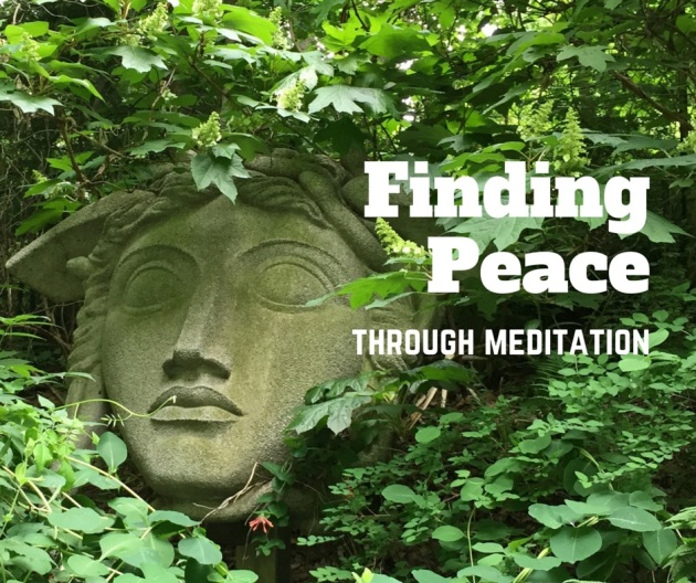 Finding peace through meditation