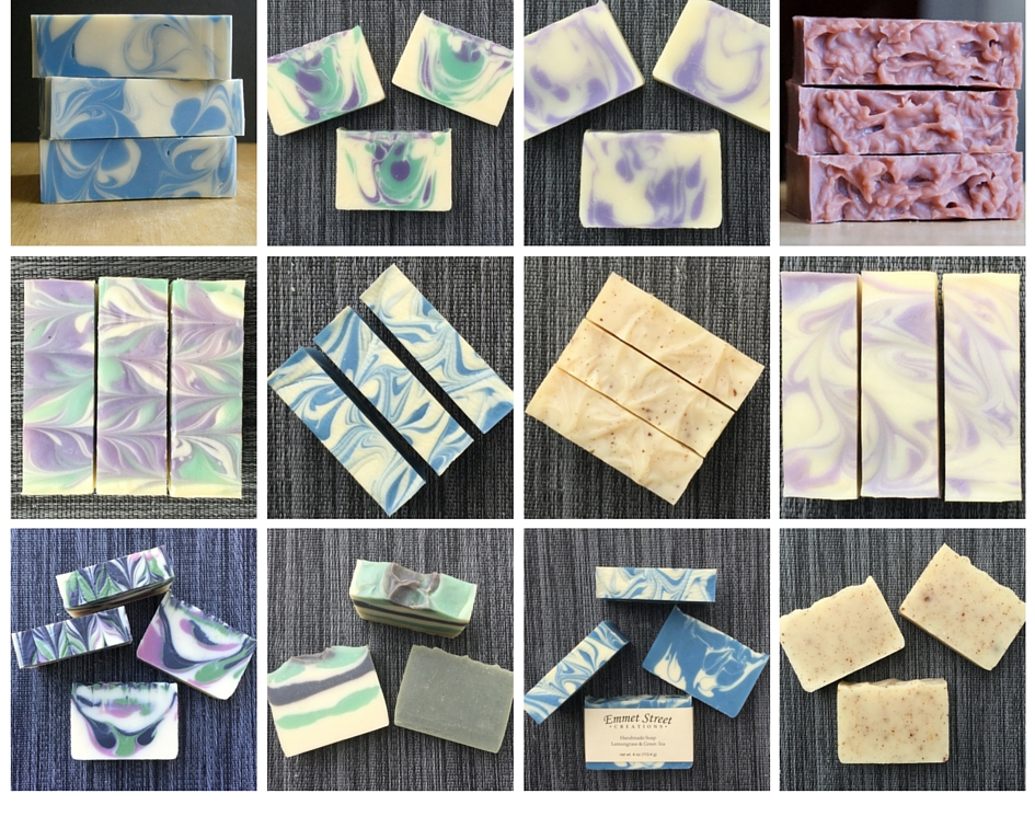Handmade soap for at Emmet Street Creations on Etsy