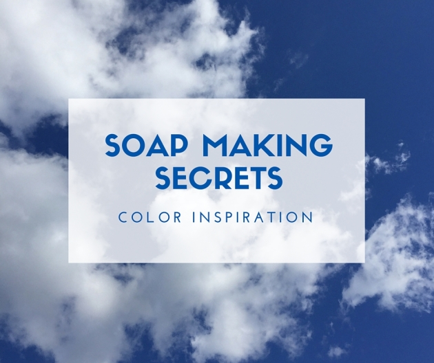 Soap making secrets: Color inspiration
