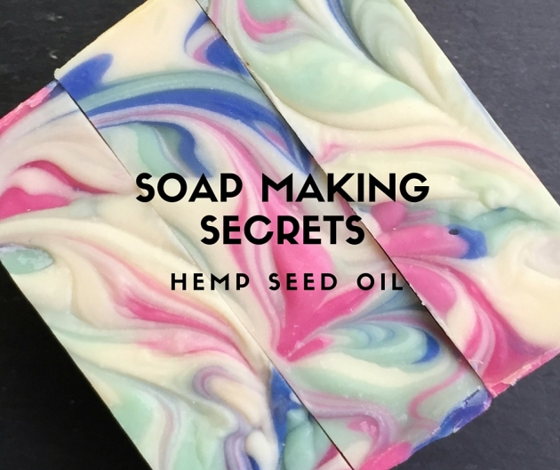 Soap making secrets: The benefits of hemp seed oil