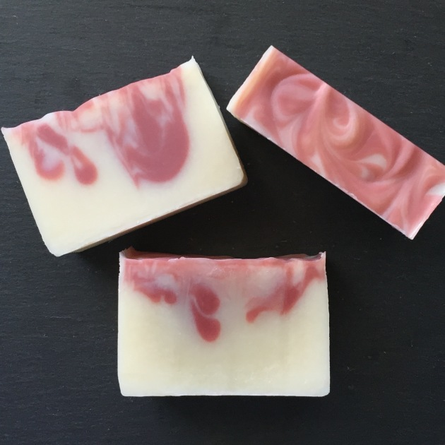 Peppermint soap from Emmet Street Creations