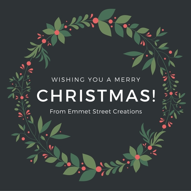Merry Christmas From Emmet Street Creations