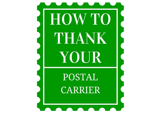 How to thank your postal carrier