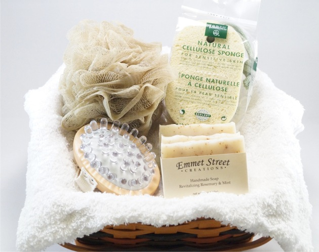 Valentine's Day Gift Idea - Spa Day Basket
