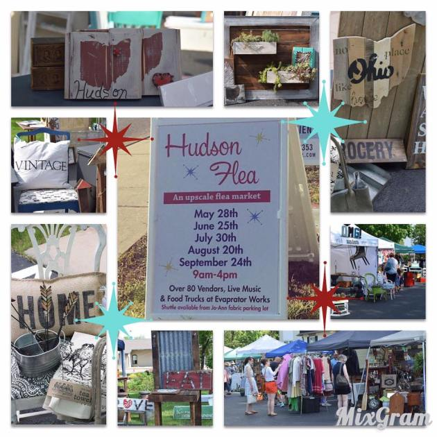 Come to the Hudson Flea on June 25